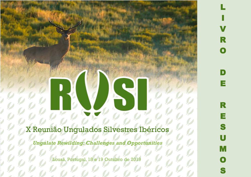 X Reunião Ungulados Silvestres Ibéricos
